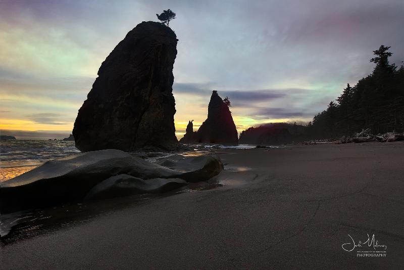 Rialto Beach Seastacks