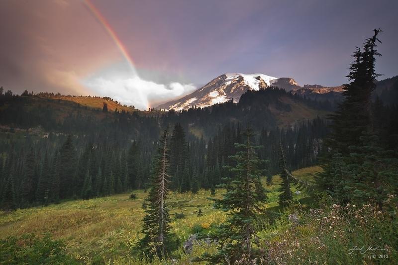 Rainier rainbow